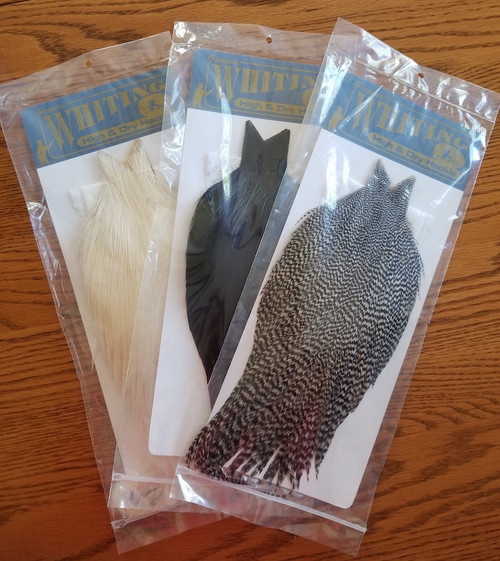 Whiting Farms High & Dry Hackle Cape