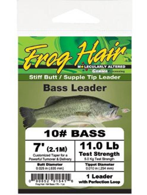 Frog Hair Bass Leader