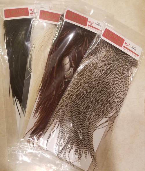 Whiting Pro Grade Saddle Feathers