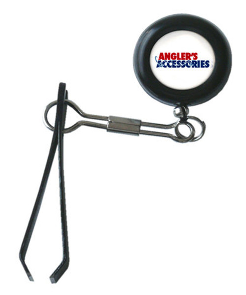 Clip-On Retractor With Nippers by Angler's Accessories