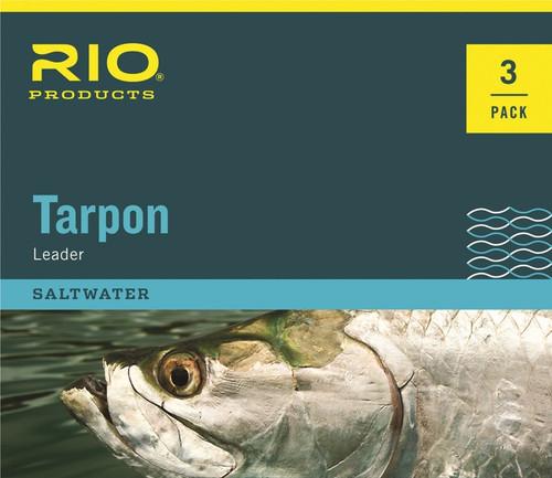 Rio Tarpon Nylon Shock Tippet Leader - 3 Pack