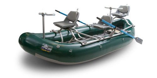 Outcast PAC 1300 - Pro Series Boat, Green