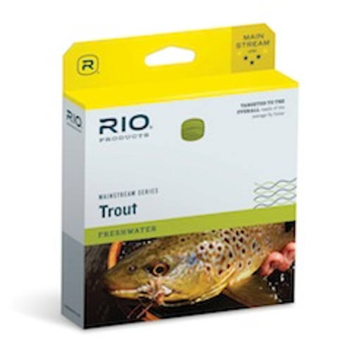 Rio Mainstream Trout Double Taper Fly Line - Fly Fishing