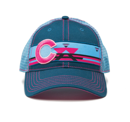 Republic Camping Colorado Hat Pink/Blue