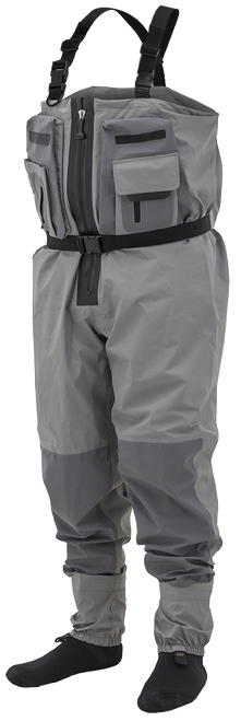 Frogg Toggs Sierran Transition Z Breathable Zip-Front Stockingfoot Wader