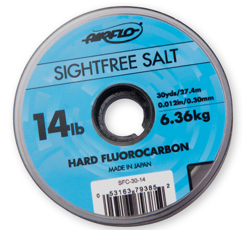 AirFlo Sightfree Salt Hard Fluorocarbon Tippet 30 Yard Spool