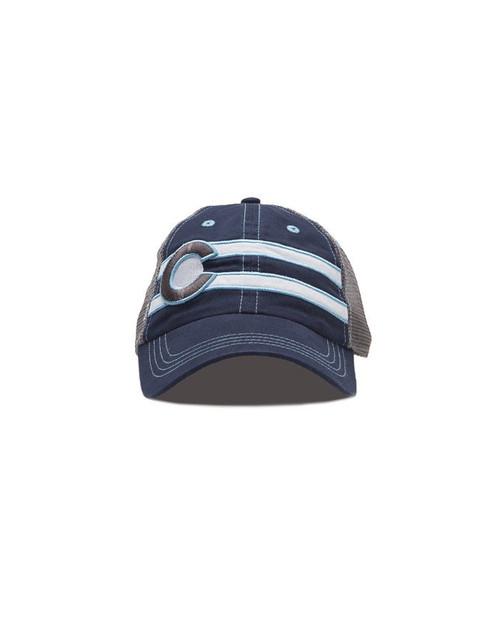 Republic Colorado Classic Double Stripe Hat Navy
