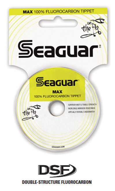 Seaguar Max Fluorocarbon Tippet 30 Yd