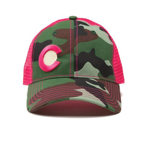 Republic Colorado Classic Hat Pink Camo