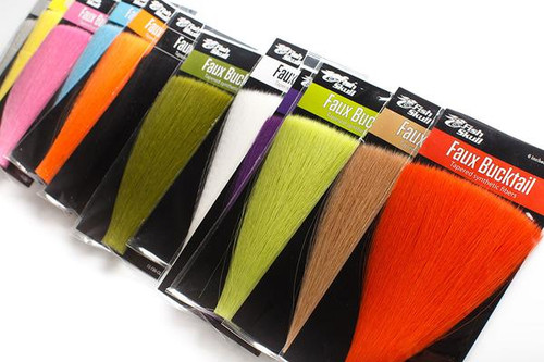 Fish Skull Faux Bucktail Assorted Colors - Fly Tying