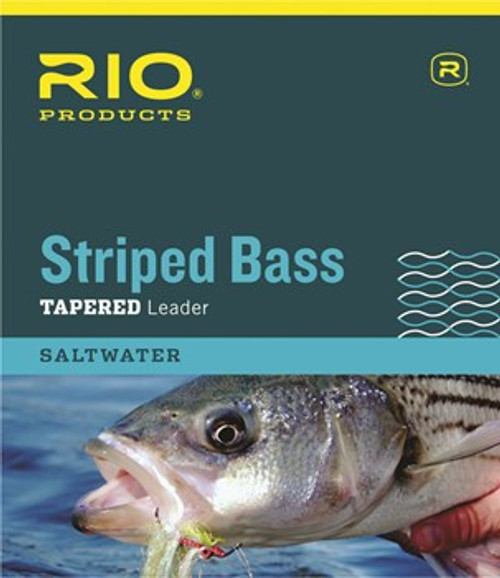 Rio Striped Bass Tapered 7' Leader