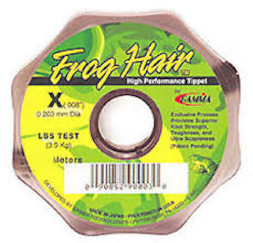 Frog Hair Tippet / Leader Material 25M - .013-.027 - Fly Fishing