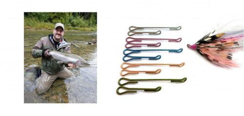 Senyo's Articulated Shanks for Steelhead Salmon Flies 25mm Assorted-Colors