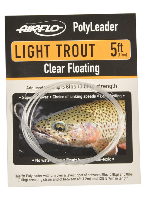 AirFlo Light Trout Polyleader