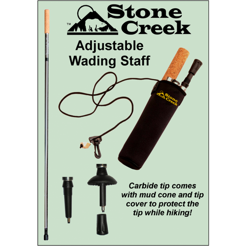 Stone Creek Adjustable Wading Staff