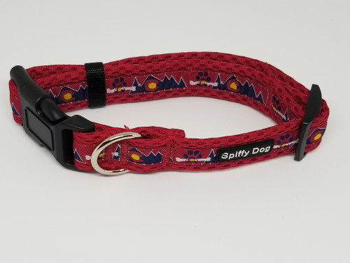 Spiffy Dog Collar | Red Colorado