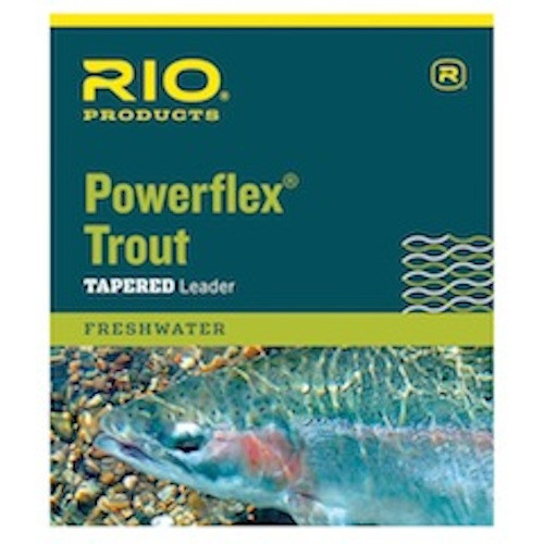 RIO Powerflex Trout Leader One Color, 4x/7.5ft - Fly Fishing