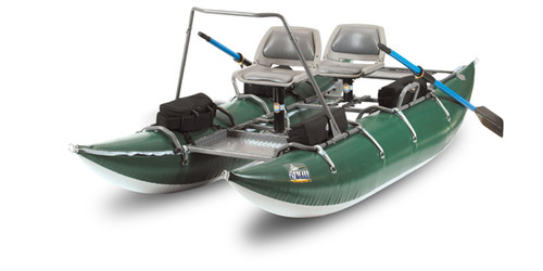 Outcast PAC 1200 - Pro Series Boat, Green