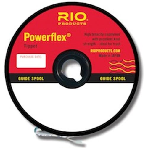 Rio Powerflex Tippet Material 100 yd. Spool - Guide Spool - Fly Fishing