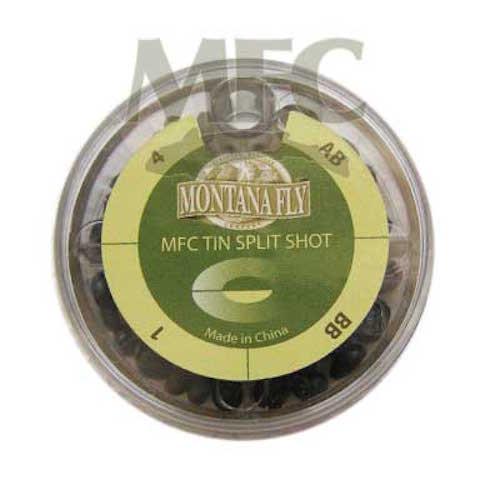 Montana Fly Company Tin Split Shot Assortment