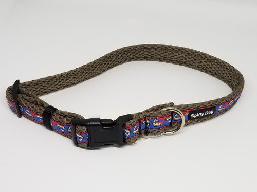 Spiffy Dog Collar | Rainbow Trout | Large