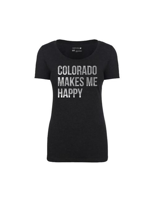 Republic Ladies Colorado Makes Me Happy - Vintage Black