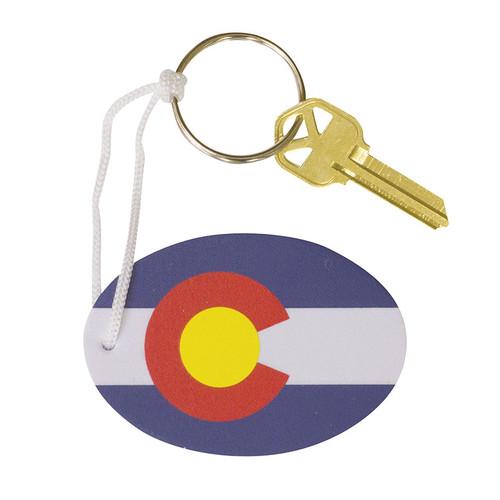 Chums Colorado Floating Keychain