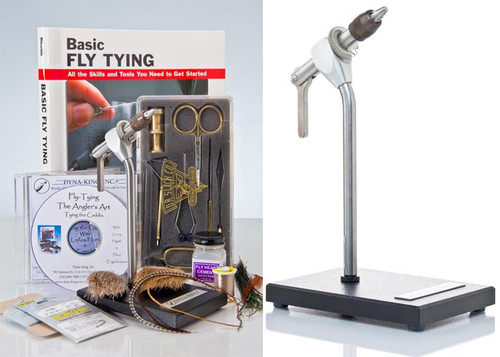 Dyna-King Kingfisher Pedestal Kit Vise - Fly Tying