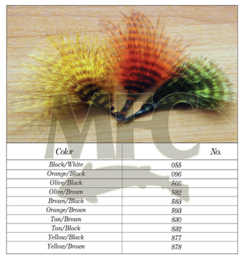 Montana Fly Company Buggerbou Mini Barred