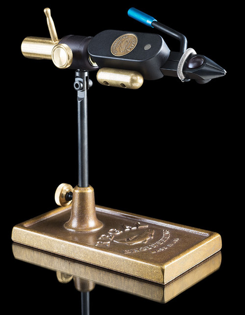Regal Big Game Head Revolution and Bronze Traditional Base Tying Vise