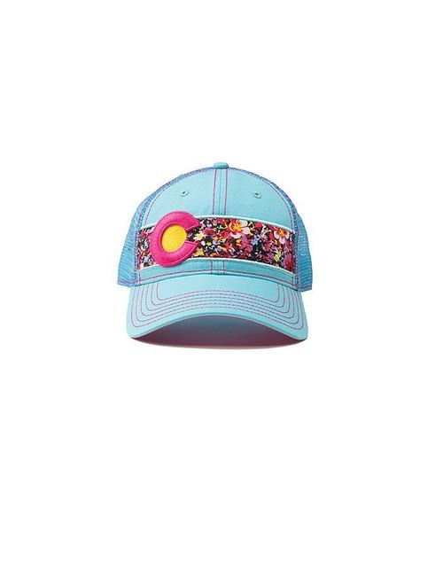 Republic Colorado Classic Hat - Flowers Light Blue