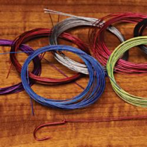 Senyo's Standard Intruder Trailer Hook Wire Assorted Colors - Fly Tying