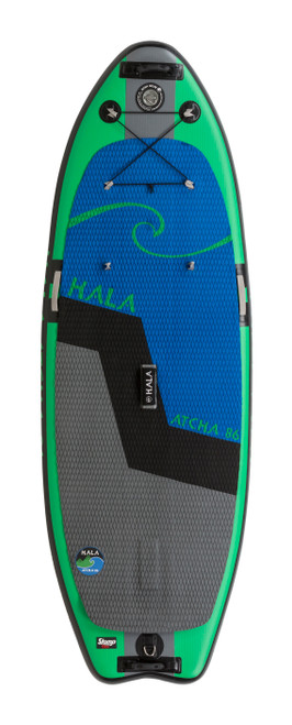 """Hala Atcha 8' 6"""" Paddle Board With StompBox Inflatable SUP"""