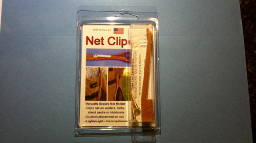 Net Clip by Tight Line - Clip On Net Holder - Fly Fishing Must Have