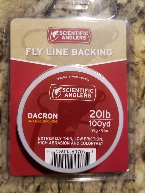 Scientific Anglers Dacron Fly Line Backing 100-yrds