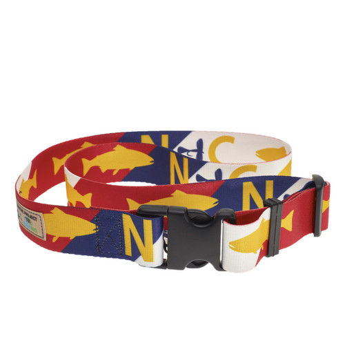 Rep Your Water North Carolina Wading Belt
