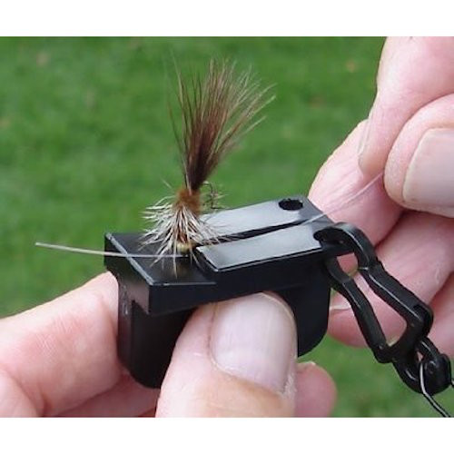 20/20 Magnetic Tippet Threader with D-Ring - Fly Fishing