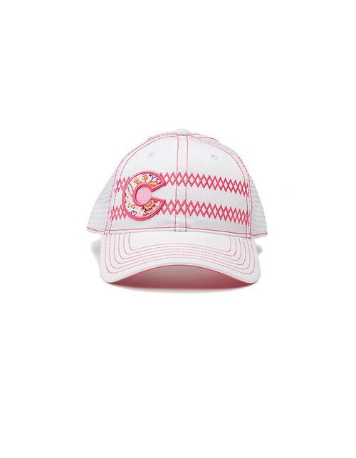 Republic Colorado Classic Hat Zipper Pink-White