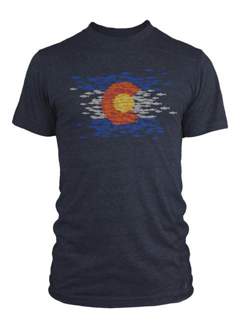 Rep Your Water Colorado Mosaic Shirt