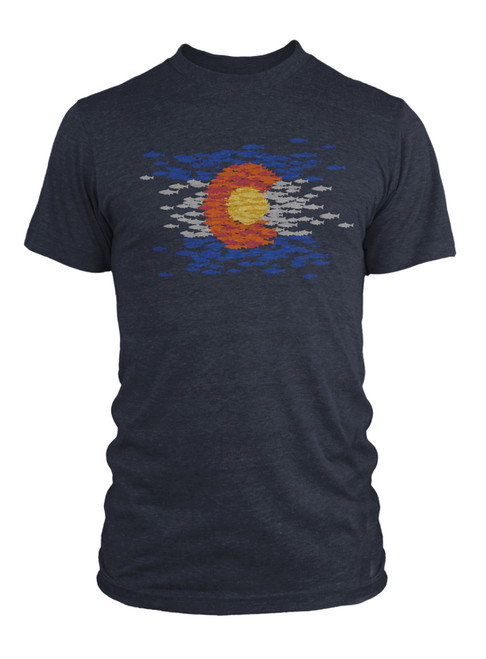 Rep Your Water Colorado Mosaic Shirt