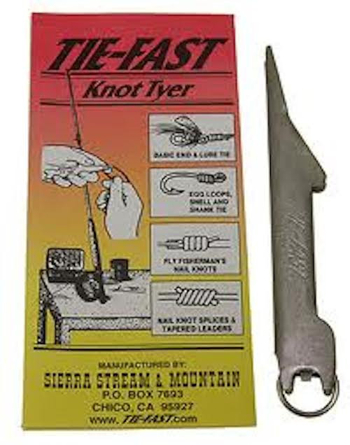Tie-Fast Magnum Knot Tyer #1 Nail Knot Tool- MUST HAVE - Fly Fishing
