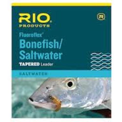 Rio Bonefish/Saltwater Fluorocarbon Leader 9 ft - Fly Fishing