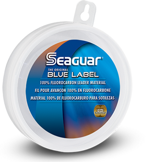 Seaguar Blue Label Fluorocarbon Tippet/Leader Material 25 Yd