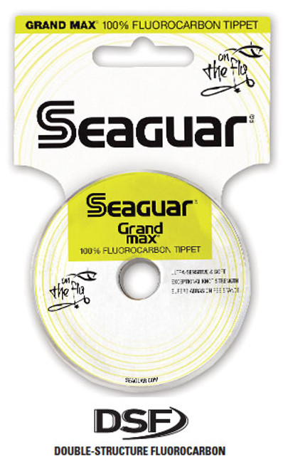 Seaguar Grand Max Fluorocarbon Tippet 30 Yd