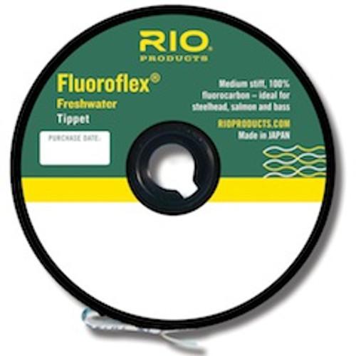 Rio Fluoroflex Fluorocarbon Tippet 30 yd. Spool - Fly Fishing