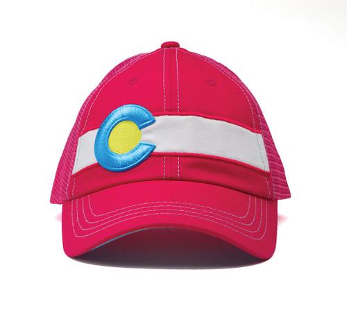 Republic Colorado Pink Single Stripe Hat