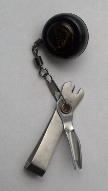 Combo Nail Knot / Nipper - Pin On Zinger - Fly Fishing - Similar Tie Fast