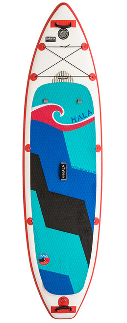 Hala Carbon Straight Up Paddle Board Inflatable SUP
