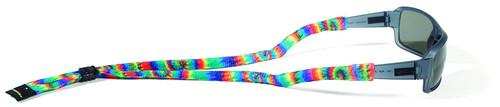 Croakies Suiters Eyewear Retainers - Tie Dye Haight Ashbury