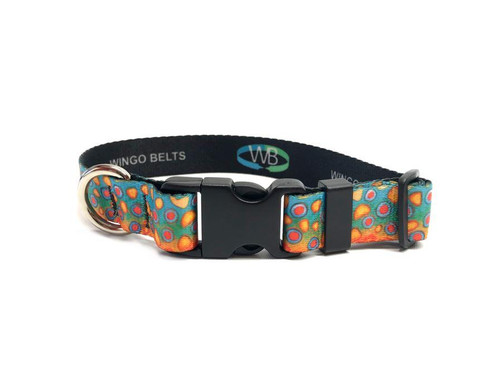 Wingo Dog Collar | DeYoung Brook Trout